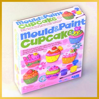 モールド&ペイント カップケーキ