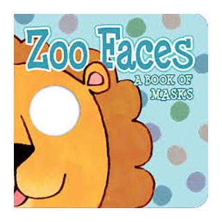 赤ちゃん絵本 Zoo Faces - A Book of Masks